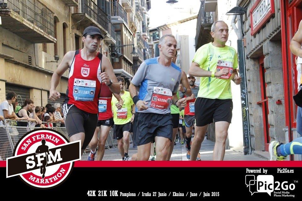 San Fermin Marathon Aprovecha El Potencial De Pic2Go